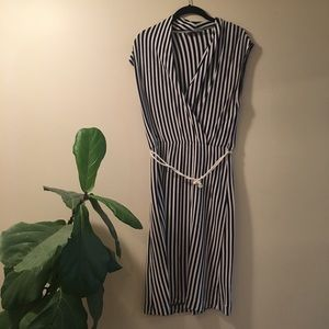 Anthropologie Saturday Sunday Stripe Dress - Small